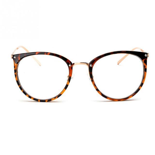 ef3aa29e598 Vintage Decoration Optical Eyeglasses Frame Myopia Round Metal Men Women  Unisex Spectacles Eye Glasses oculos de