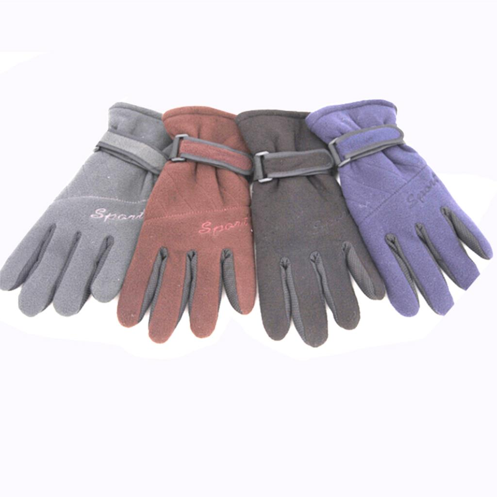High Quality Winter Warm Men Snow Ski Snowboard Gloves grey / black / coffee / navy blue Free Shipping