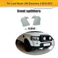 Передний бампер разветвители губ закрылки Cupwings для Land Rover LR4 Discovery 4 спортивные внедорожник 4 двери 10 13 серый из искусственной кожи