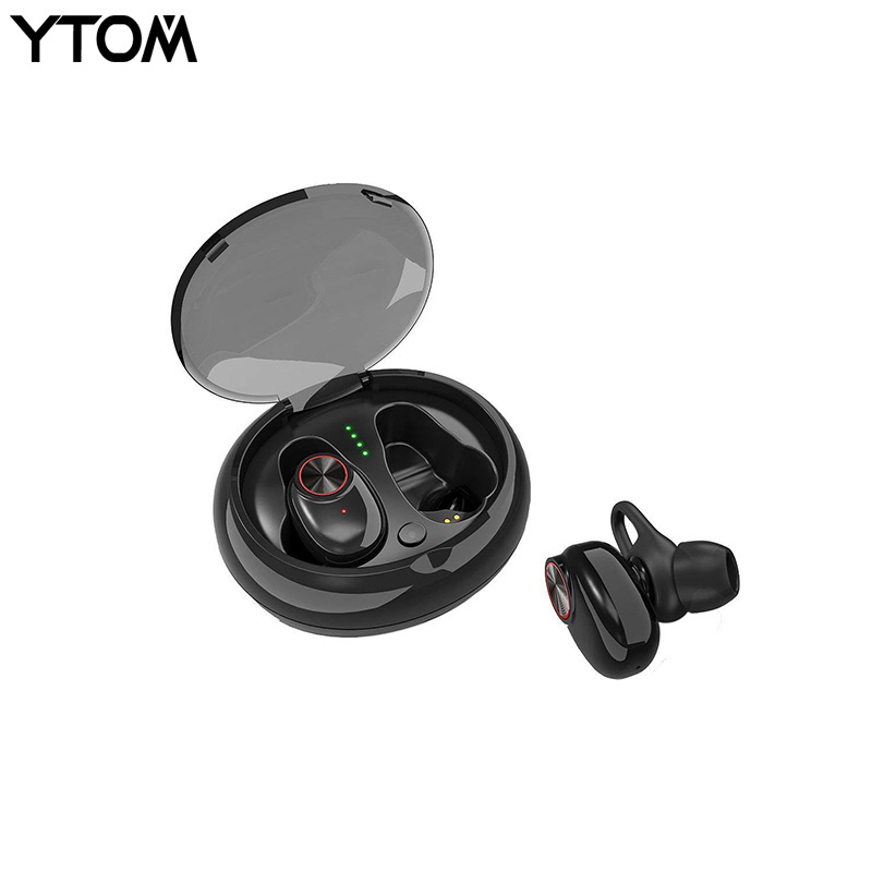 Wireless Bluetooth 5.0 Headphones True TWS Bluetooth 4.2 + EDR Headset Stereo Earphones With Charging Box for ios Android xiaomi masentek m18 fashionable bluetooth v3 0 edr music bluetooth headset white
