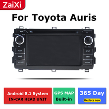 ZaiXi 2Din For Toyota Auris 2012~2018 Car Android Radio Multimedia Player GPS Navigation IPS Screen HiFi WiFi BT