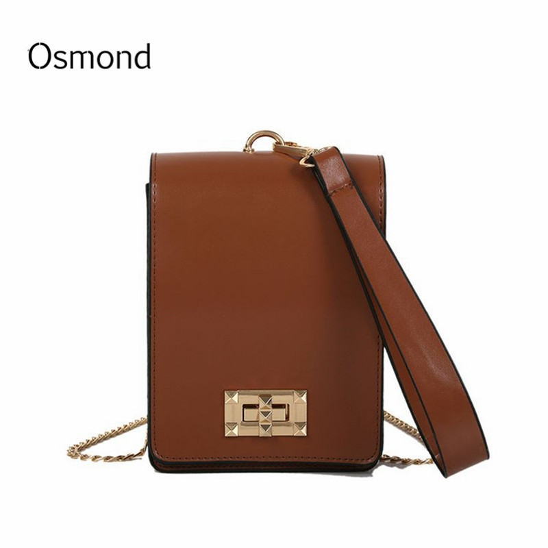 Detail Feedback Questions about Osmond Women Luxury Handbags Small PU  Leather Messenger Bags Mini Chian Bags Ladies Totes Day Clutches Evening  Crossbody ... d2c1792824