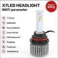 car light bulb external lights 80W 9600LM 9004 9007 h4  H13 h7 Conversion Kit  9006 H1 led H3  H11 Super Bright Headlamp