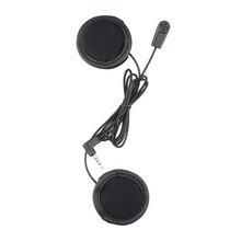 1 pc Soft Earphone Microphone Work for Fodsports V6 V4 Motorcycle Bluetooth Helmet Intercom Headset
