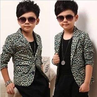 fc15489c1 Children Outwear New 2015 new Spring Autumn Baby Boys brand Leopard ...