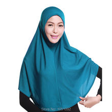 1pc Women's long Hijabs for islam muslim all season spring summer winter autumn cotton 96CM*82CM 1pc/set 20 colors can choose