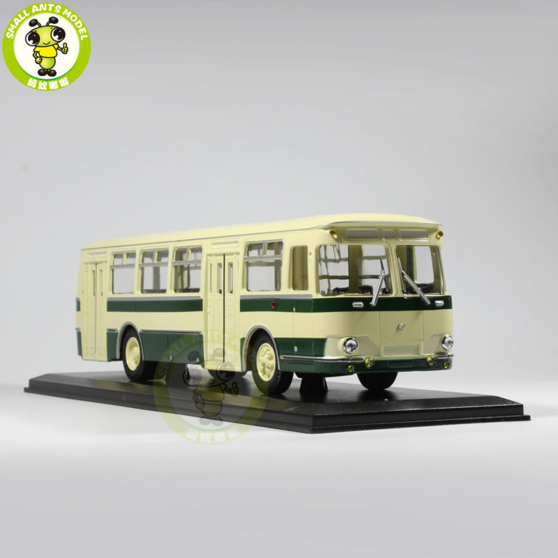 1/43 LIAZ 677 LIAZ-677 Bus Model USSR Soviet Union city bus ULTRA CLASSIC BUS MODEL Green knl hobby voyager model pea306 soviet union gaz aaa three axis truck with cross country track metal etching pieces