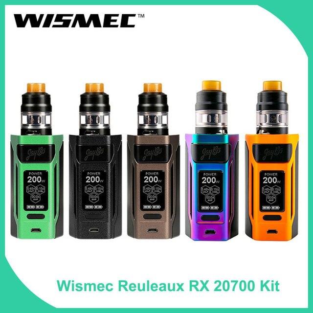 Оригинальный wismec reuleaux RX2 20700 с гном распылитель 1-200 W Полный комплект с WM спиральная электронная сигарета набор модов для вейпинга