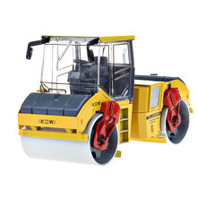 KAIDIWEI 1:35 Alloy Tandem Compactor Truck Car Model Roller Kids Toy Boy Birthday Gift(China)