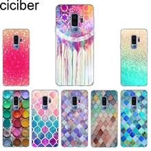 ciciber Phone Case for Samsung Galaxy S10 S10+ S10e Lite Soft TPU Back Cover S9 S8 S7 S6 S5 Edge Plus Mini Coque