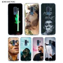 Transparent Soft Silicone Phone Cases Zayn Malik One Direction For Samsung Galaxy S9 S8 Plus S7 S6 S5 Edge Note 9 8