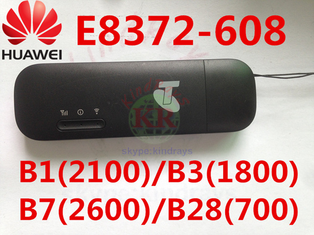 Unlocked Huawei E8372 E8372h 608 150Mbps 4G LTE usb Wifi modem carfi car wifi router pk