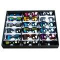 Gafas de sol de la Caja de Almacenamiento de Contenedores Organizador 18 Relojes Cuadrícula de Gafas Titular Caso Hombres Mujeres joyería titular DM #6