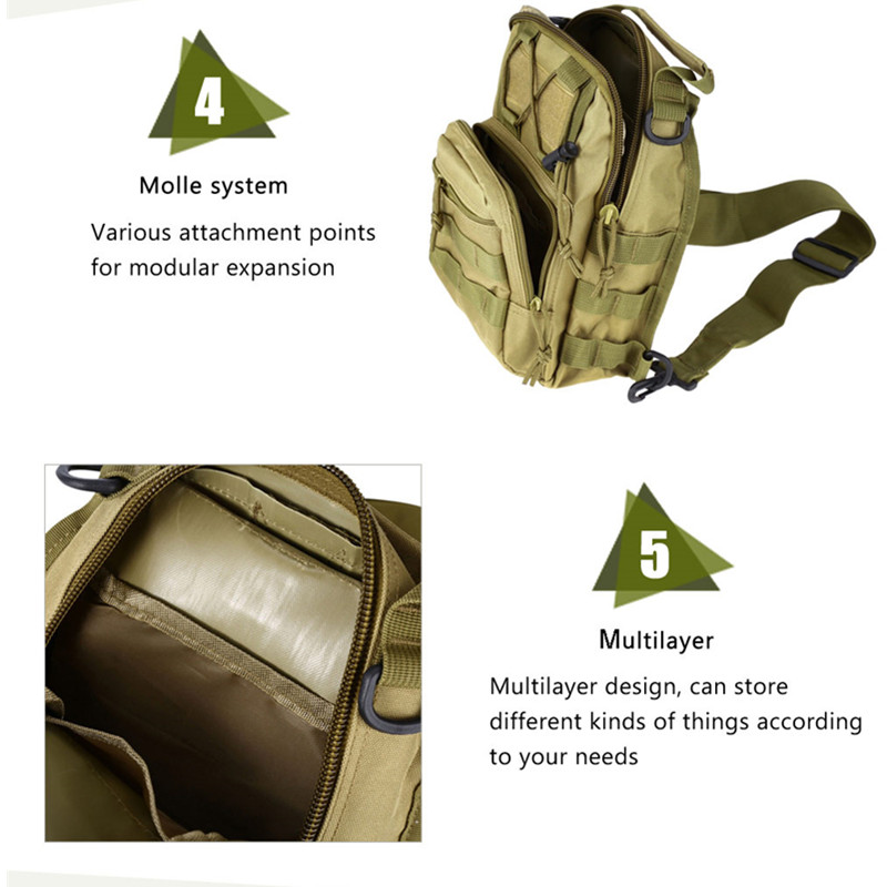 Outdoor Shoulder Military Backpack Climbing Bags Camping Travel Hiking Trekking Bag Cycle Bag 9 Colors19