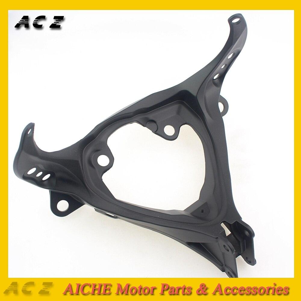 ACZ Motorcycle Front Upper Fairing Stay Holder Headlight Bracket Cowling Brackets For Suzuki GSXR1000 GSX-R1000 K5 2005-2006