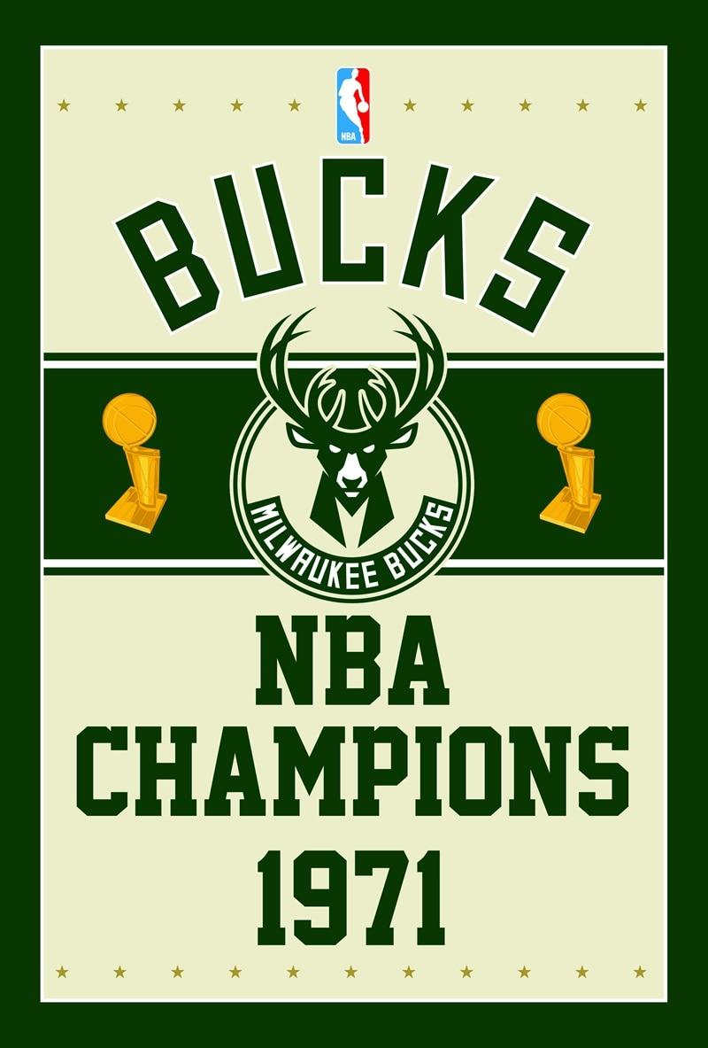 Milwaukee Bucks Banners 100D Polyester Digital Printing colorful baskatball Flags Sleeve metal Grommets 3x5FT sports equipment