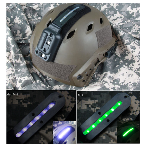 TRIJICON Tactical White Green LED Weapon Light For Helmet Outdoor Hunting Paintball Accessory OS15-0063