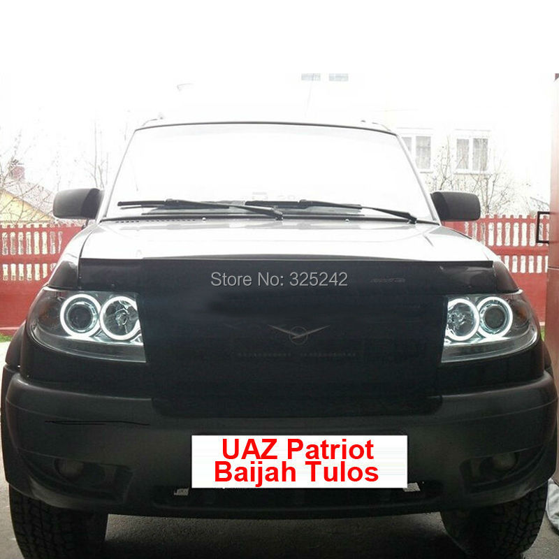 UAZ Patriot Baijah Tulos 2007-2012 ccfl angel eyes(4)