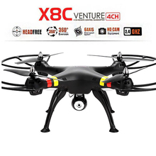 Syma X8C RC Quadcopter camera Gyro Altitude Mini RC Helicopter Transmitter Explorers 2.4G 4CH LED Super UFO 6Axis Drone FPV