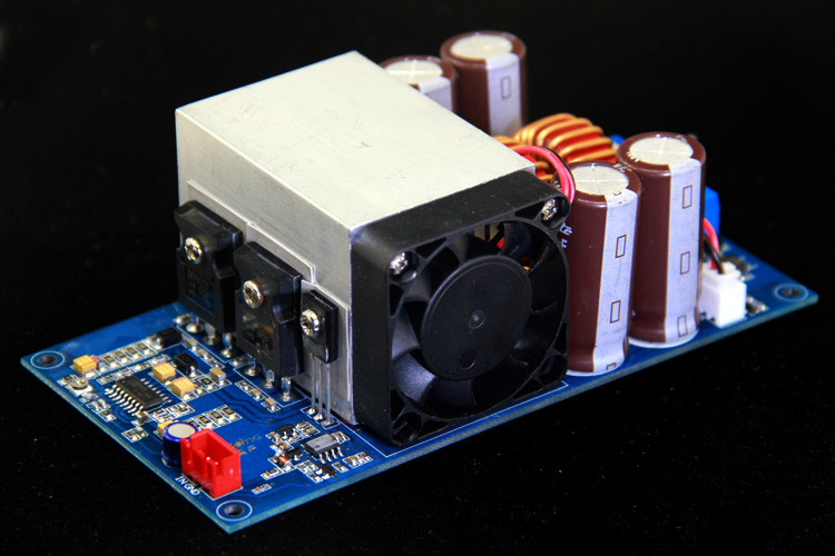 1000W HIFI Fever Mono Stage Subwoofer Digital Amplifier Board IRFP4227 + IRS2092S finished irfp4227 irs2092s high power 1000w mono class d hifi digital power amplifier board