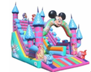 Ребенку играть в игрушки используются Надувные слайд, надувные вышибала слайд для продажи
