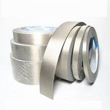 1 pces 20m single-sided adesivo condutivo pano fita interferência blindagem isolamento proteção de radiação eletromagnética