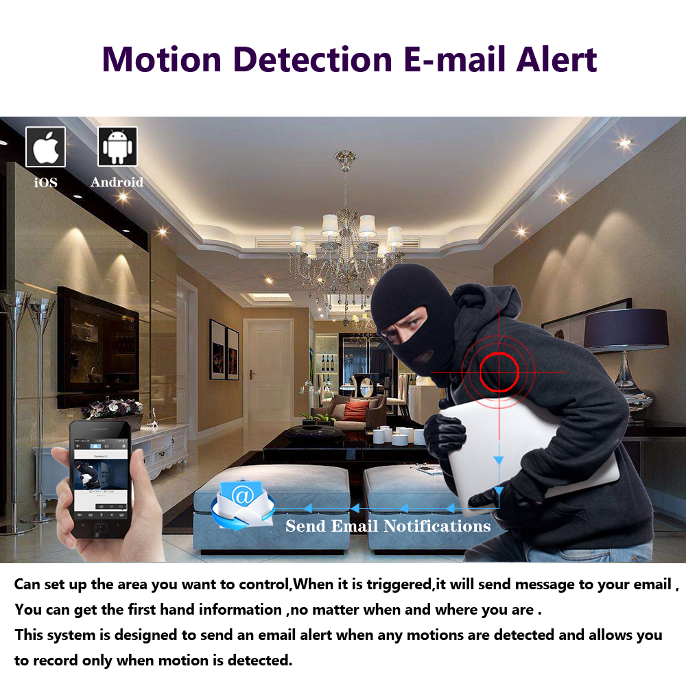 Купить с кэшбэком Home 8CH CCTV System 1080P DVR 8PCS 2.0MP IR Weatherproof Outdoor Video Surveillance Home Security Camera System 8CH DVR Kit