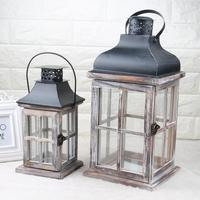 European Style Country Retro Candlestick Innovative Decoration Romantic Candlestick Wind Lamp Home Decor