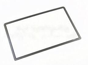 Image 1 - استبدال أعلى سطح الزجاج ل جديد 3DS LL XL ل جديد 3 dsxl 2015 شاشة الخارجي غطاء للعدسات الأسود الأبيض الأحمر الأزرق