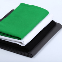 Photography Accessories Chromakey Backdrop 1.8m x 2.8m /5.9ft*9.2ft Cotton Muslin Background for Video Studio White Black Green