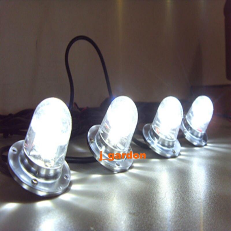 Вслед за этим 4 x 3 Ватт СИД наивысшей мощности Гриль аварийный Lightr предупреждения привели свет мигающий светодиод яркий свет