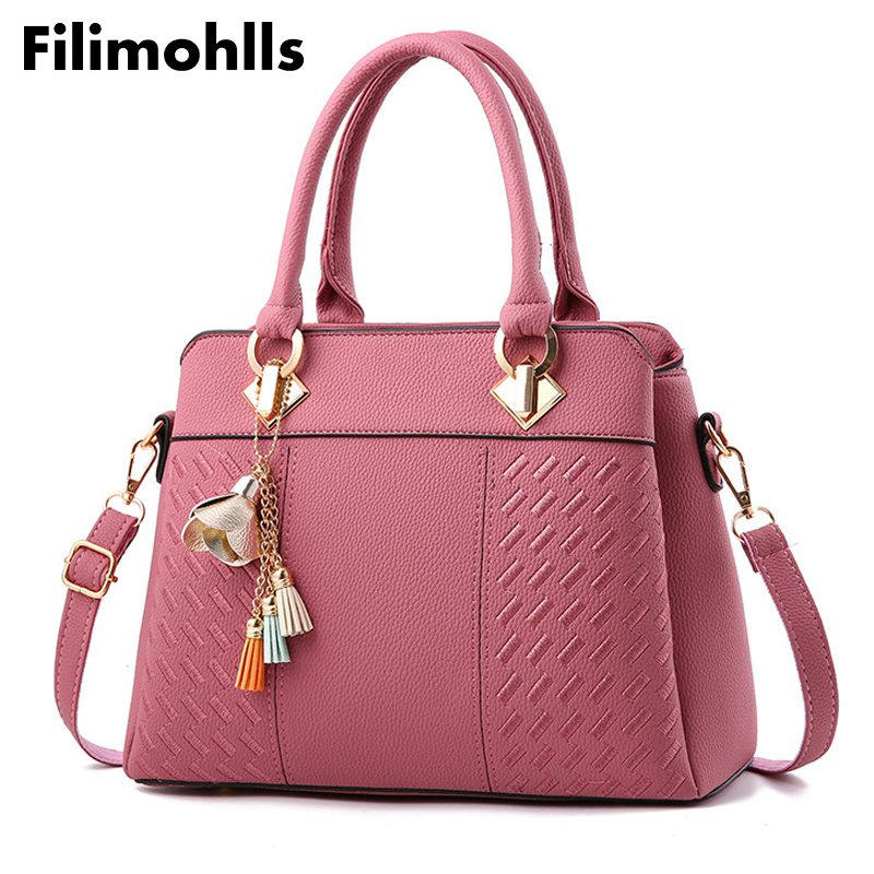 9e75deffd6a Women Handbag Famous Brand PU Leather Lady Handbags Luxury Shoulder ...