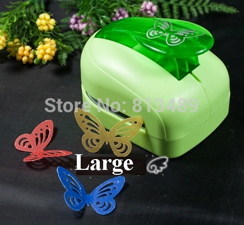 Super Large Butterfly Hole Punch Paper Punches Scrapbooking Punches Craft Scrapbook Puncher Card Punch Paper Shaper S2773