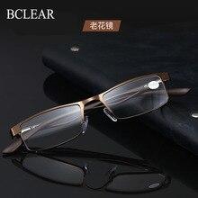 BCLEAR Men Women Presbyopia Eyeglasses with Spring Hinge TR Legs Comfortable Reading glasses+1.0 +1.5 +2.0 +2.5 +3.0 +3.5 +4.0