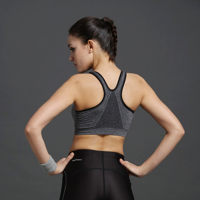 Push Up Crop Top Seamless Sexy Shakeproof Underwear
