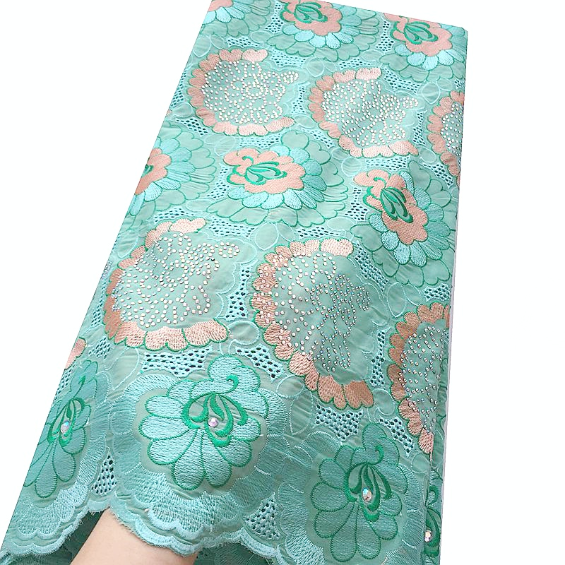 African Lace Fabric Swiss Voile Lace High Quality
