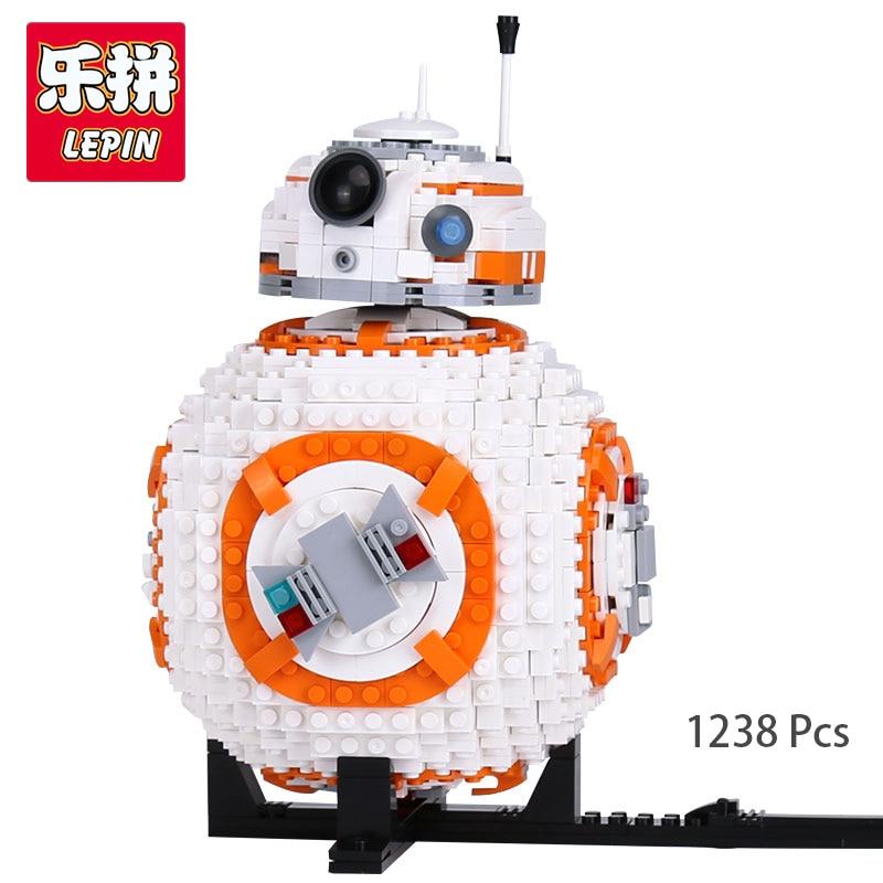 Lepin 05128 In stock 1238Pcs Star Plan Series Double B 8 Robot legoing 75187 Set Building Blocks Bricks Toys As Christmas Gifts конструктор lepin star plan истребитель набу 187 дет 05060
