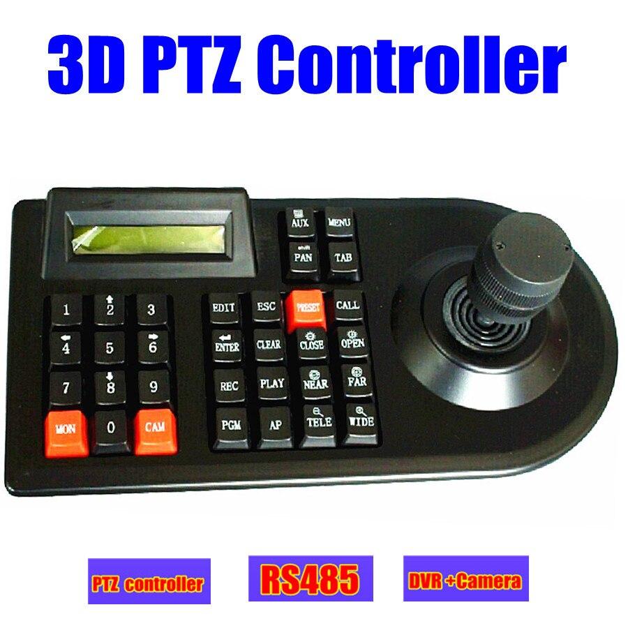 CCTV analogique ptz caméra DVR PTZ 3D clavier contrôleur joystick RS485 pour CCTV PTZ vitesse dôme caméra contrôleur