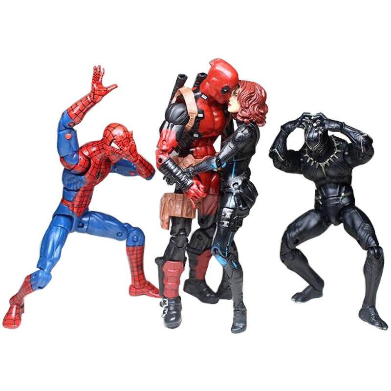 Diy 2pcs 6 Quot Marvel Legends Pizza Venom Spiderman Deadpool