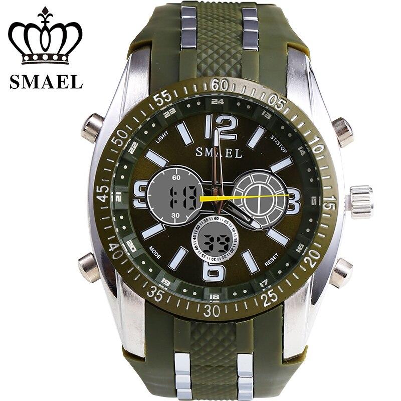 ФОТО SMEAL Neue Band Analog Chronograph Stoppuhr Sport Datum Clock Geliebten Uhr Weihnachtsgeschenk Men Watch Present 1006B