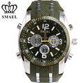 SMEAL Neue Band Analog Chronograph Stoppuhr Sport Datum Clock Geliebten Uhr Weihnachtsgeschenk Men Watch Present 1006B