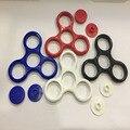 4 видов цвет Tri-Spinner Игрушка Непоседа EDC Пластиковый Корпус Ручной счетчик Для Аутизма и СДВГ Вращения Долгое Время Анти-Стресс Игрушки