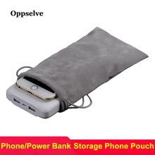hot deal buy oppselve power bank case phone pouch for iphone samsung xiaomi huawei waterproof powerbank storage bag mobile phone accessories