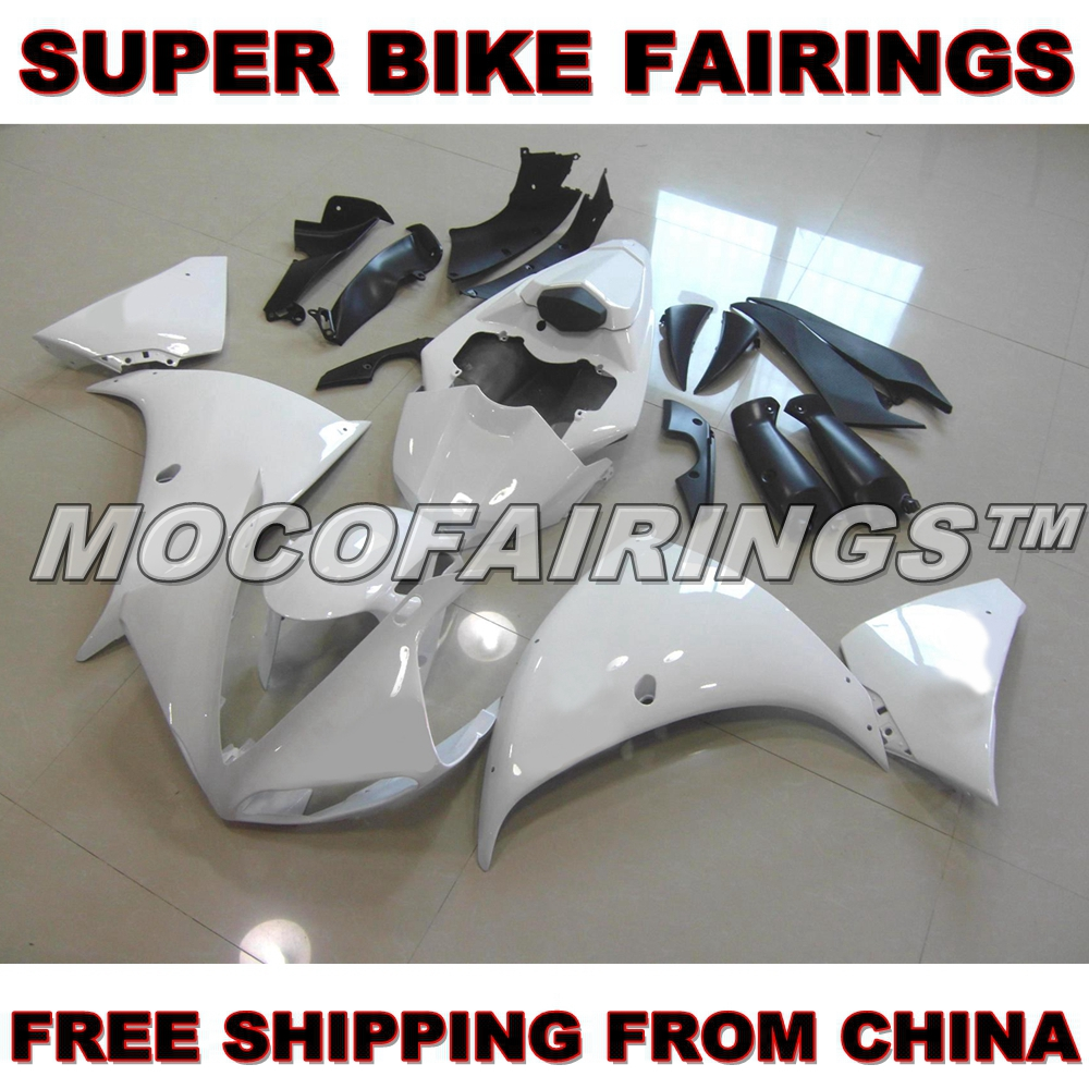 Motorcycle Unpainted ABS Fairing Kit For Yamaha YZF R1 2009 2010 2011 Fairings Kits Front Nose Bodywork Pieces