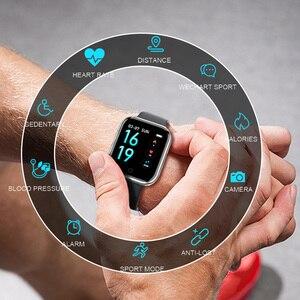 Image 3 - Smart watch Women Men Sports Fashion IP68 Waterproof Activity Fitness Tracker Heart Rate BRIM Smartwatch VS P68 P70 Bracelet