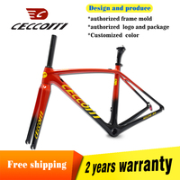 2019 new Ceccotti carbon road bike frame T1000 speed cycling carbon bike frame super light 765g
