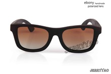 Newest Fashion Handmade Ebony Wood Sunglasses Wooden Unisex sunglasses wood sun glasses