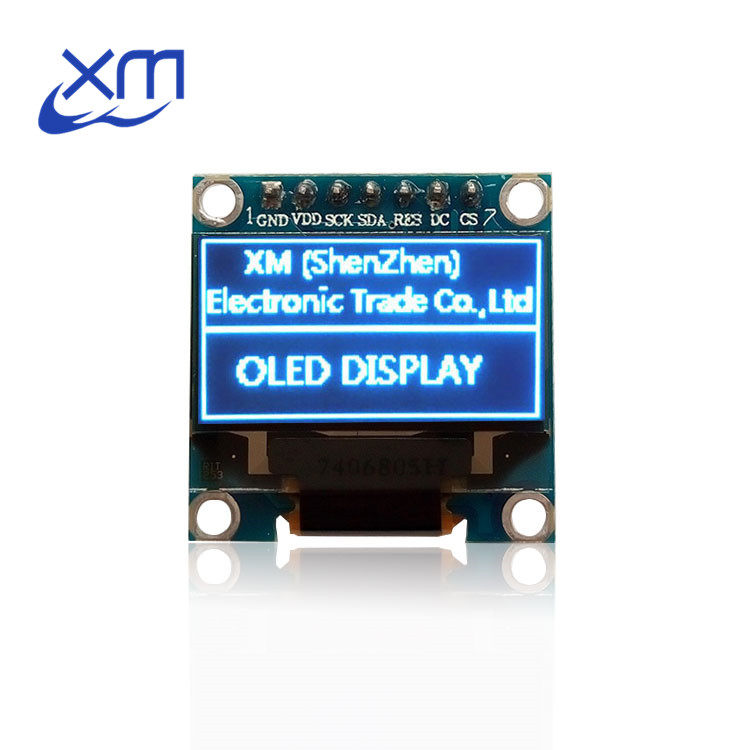 10pcs 0.96BLUE OLED module 0.96 OLED New 128X64 OLED LCD LED Display Module For 0.96 SPI Communicate 10pcs/lot for Arduino D32
