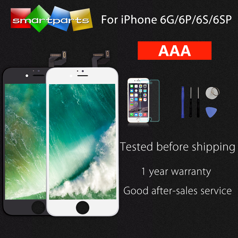 schermo LCD For iPhone 6 6s plus LCD Screen Replacement Digitizer Touch Screen with Frame Display Assembly with 3D Touch