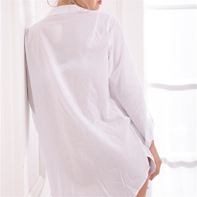 Women's Soft Cotton Nightgown